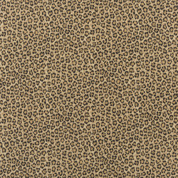 Signature Black Palms Fabrics   Bacara Leopard Bamboo   Vorhangstoffe   Designers Guild