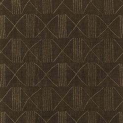 Signature Black Palms Fabrics | Bazett Ebony | Curtain fabrics | Designers Guild