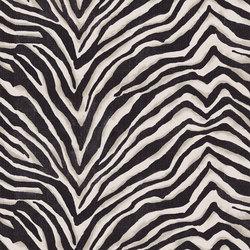 Signature Black Palms Fabrics | Terranea Zebra Ebony | Tejidos para cortinas | Designers Guild