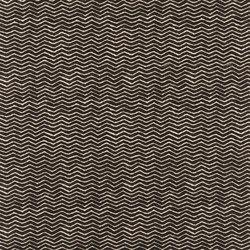 Signature Black Palms Fabrics | Mali Herringbone Ebony | Curtain fabrics | Designers Guild