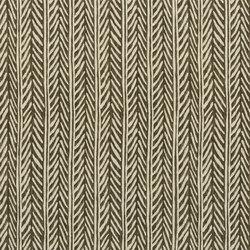 Signature Black Palms Fabrics | Pemba Charcoal | Tissus pour rideaux | Designers Guild