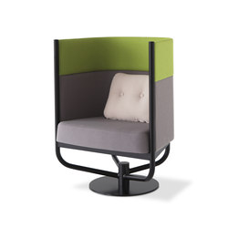 Building swivel | Privacy furniture | Balzar Beskow