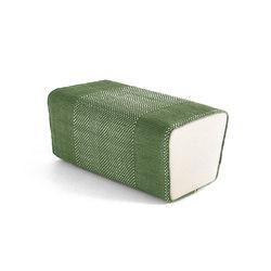Tres Pouf Verde | Poufs / Polsterhocker | Nanimarquina