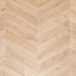 FLOORs Selection Chevron Oak white | Wood flooring | Admonter Holzindustrie AG