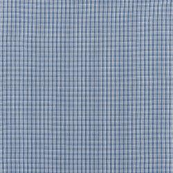 Signature Elizabeth Street Fabrics | Adalaide Check Sea | Curtain fabrics | Designers Guild