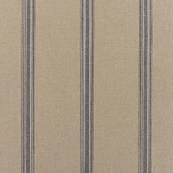 Signature Elizabeth Street Fabrics | Beauvais Grain Sack Dark Blue | Curtain fabrics | Designers Guild