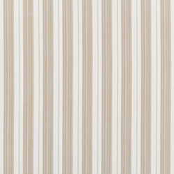 Signature Elizabeth Street Fabrics | Joelle Ticking Natural | Curtain fabrics | Designers Guild