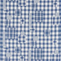 Signature Elizabeth Street Fabrics | Genevieve Patchwork Denim | Tejidos para cortinas | Designers Guild