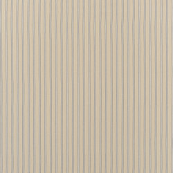 Signature Elizabeth Street Fabrics | Amelot Ticking Linen Blue | Curtain fabrics | Designers Guild