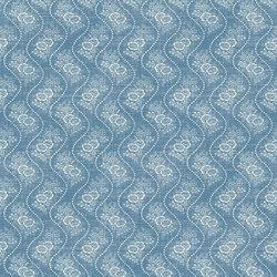 Signature Elizabeth Street Fabrics | Annaliese Floral Chambray | Curtain fabrics | Designers Guild