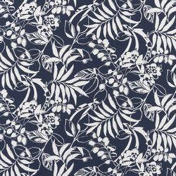 Signature Modern Glamour Fabrics | Westinghouse Floral - Resort Navy | Curtain fabrics | Designers Guild