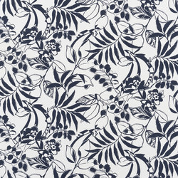 Signature Modern Glamour Fabrics | Westinghouse Floral - Dress White | Curtain fabrics | Designers Guild