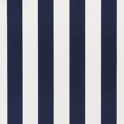 Signature Modern Glamour Fabrics | Gaston Stripe - Resort Navy | Vorhangstoffe | Designers Guild