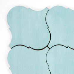 Arabesque - Aqua | Ceramic tiles | Granada Tile
