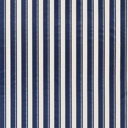Signature Modern Glamour Fabrics | Belvedere Stripe - Metallic Navy | Curtain fabrics | Designers Guild
