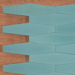 Long Hex - Aqua | Ceramic tiles | Granada Tile