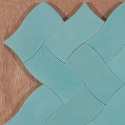 Weave - Aqua | Concrete tiles | Granada Tile