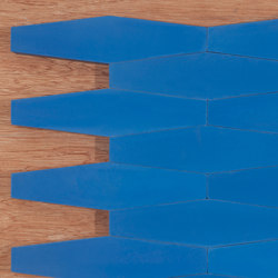 Long Hex - Blue | Concrete tiles | Granada Tile