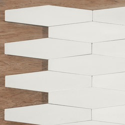 Long Hex - White | Baldosas | Granada Tile