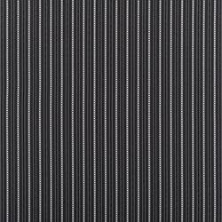 Signature West Village Fabrics | Crondall Stripe - Jet Black | Vorhangstoffe | Designers Guild