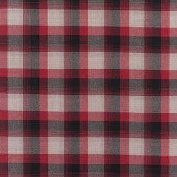 Signature West Village Fabrics | Market Street Plaid - Cardinal | Tejidos para cortinas | Designers Guild