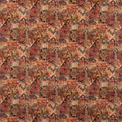 Signature West Village Fabrics   Cornelius Velvet - Madder Red   Tejidos para cortinas   Designers Guild