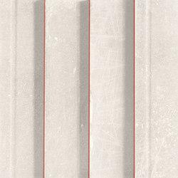 L'H Bianco Righe | Mosaicos de cerámica | EMILGROUP