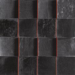 L'H Nero Quadri | Mosaïques céramique | EMILGROUP