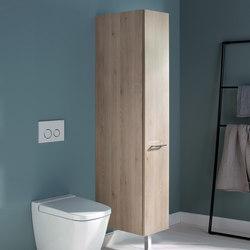 Sys30 | Colonne avec aménagement coulissant | Armoires de salle de bains | burgbad