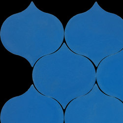Droplet-blue | Concrete tiles | Granada Tile