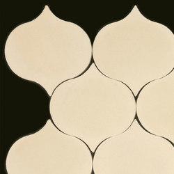 Droplet-cream | Floor tiles | Granada Tile