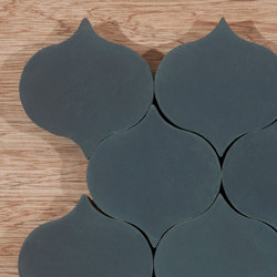 Droplet-midnight | Floor tiles | Granada Tile