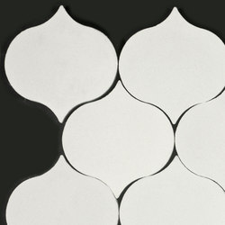Droplet-white | Concrete tiles | Granada Tile