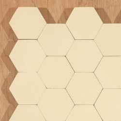 Hexagon-cream | Piastrelle cemento | Granada Tile