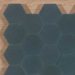 Hexagon-midnight | Piastrelle per pavimenti | Granada Tile