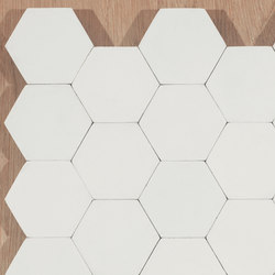 Hexagon-white | Piastrelle cemento | Granada Tile