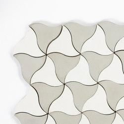 Kite-White-Grey | Concrete tiles | Granada Tile