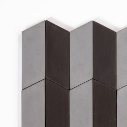 Long-Accordion-Parade-silver-black | Concrete tiles | Granada Tile