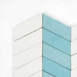 Long-Chevron-Parade-aqua-white | Tiles | Granada Tile