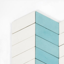 Long-Chevron-Parade-aqua-white | Carrelages | Granada Tile