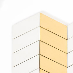 Long-Chevron-Parade-yellow-white | Baldosas de suelo | Granada Tile