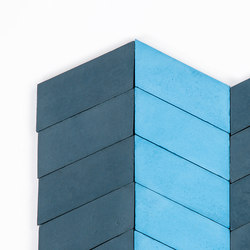 Long-Chevron-Parade-midnight-sky | Concrete tiles | Granada Tile