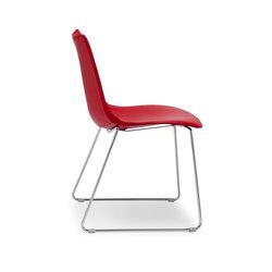 Zebra Pop with sledge frame | Chairs | Scab Design
