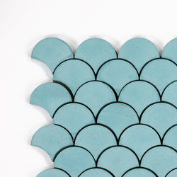Scale-aqua | Concrete tiles | Granada Tile