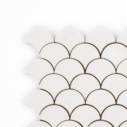 Scale-white | Concrete tiles | Granada Tile