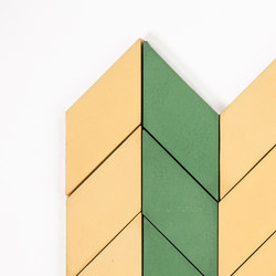 Short-Chevron-Parade-yellow-pine | Concrete tiles | Granada Tile