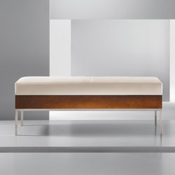 Alia | Metal Bench | Bancos de espera | Cumberland Furniture