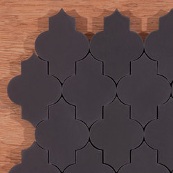 Trellis-black | Concrete tiles | Granada Tile