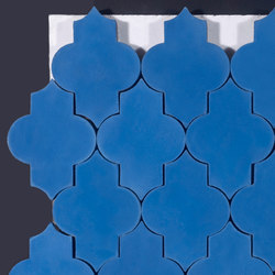 Trellis-blue | Floor tiles | Granada Tile