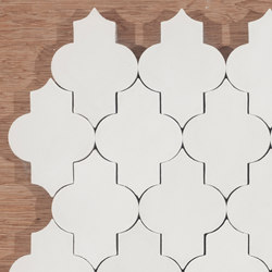 Trellis-white | Floor tiles | Granada Tile